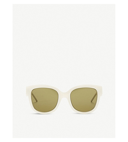 DIOR Nightfall round sunglasses (Gold+white
