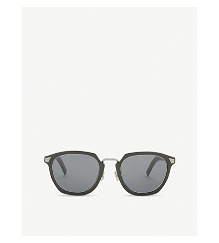 DIOR Tailoring 1 square-frame sunglass (Black