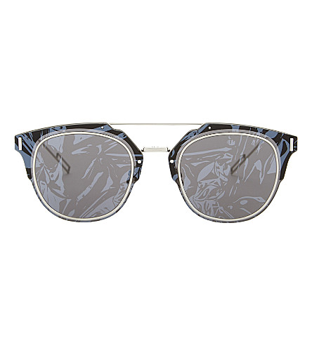 DIOR Composit 1.0 round-frame sunglasses (Grey