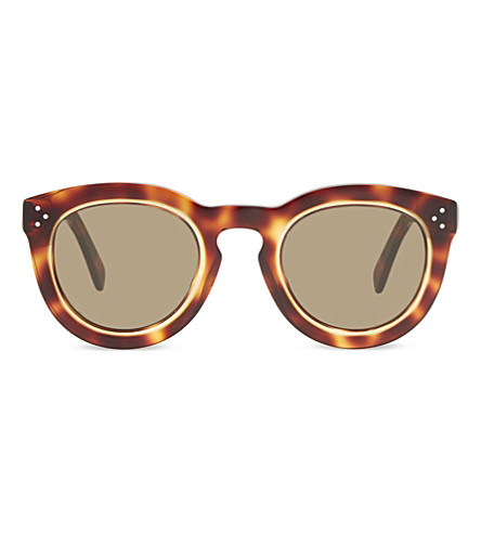 CELINE Cl41403 cat-eye sunglasses (Tortoise+blonde