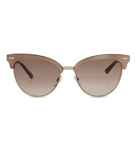 GUCCI GG4283 cat-eye sunglasses (Pink purple