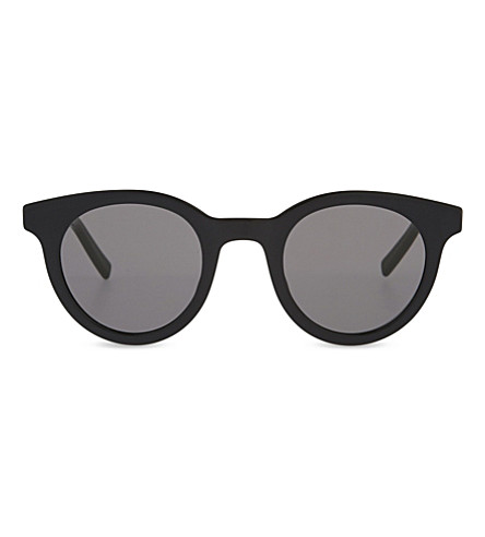 DIOR Black Tie 182S round-frame sunglasses (Black