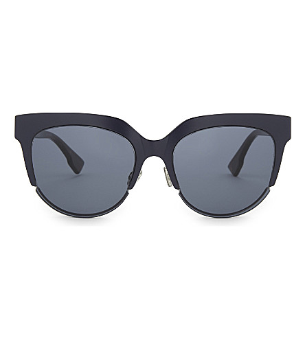 DIOR DiorSight2 cat eye sunglasses (Tortoise+blue