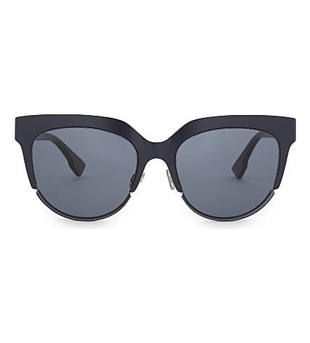 DIOR DiorSight2 猫眼太阳镜 (龟 + 蓝