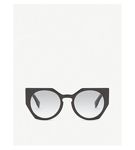 FENDI Ff0151 cat-eye sunglasses (Black