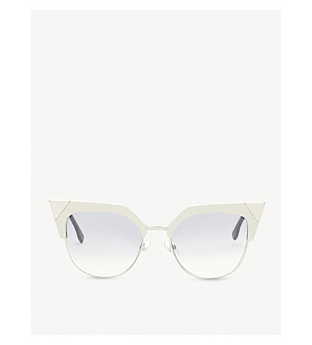 FENDI Ff0149 square-frame sunglasses (Tan
