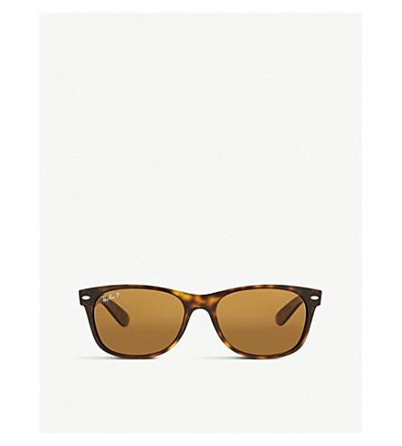 RAY-BAN RB2132 New Wayfarer tortoiseshell sunglasses (Tortoise