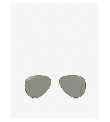 RAY-BAN RB3025 aviator sunglasses (Arista