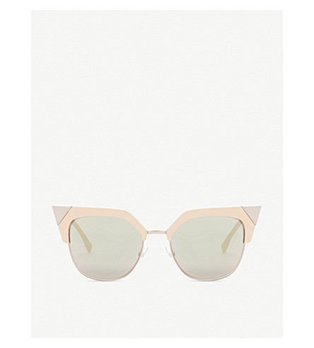 FENDI Ff0149 square-frame sunglasses (Pink