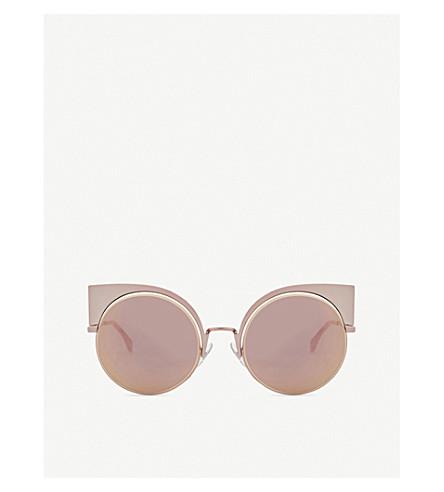 FENDI FF0177 round sunglasses (Pink