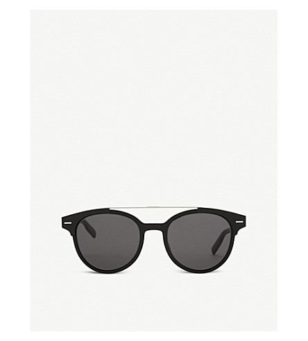 DIOR Blacktie220s round-frame sunglasses (Black