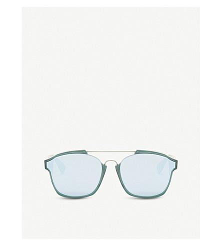 a33e046ddd9b8 DIOR Abstract square-frame sunglasses (Green