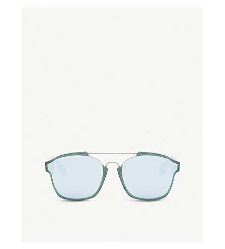 DIOR Abstract square-frame sunglasses (Green