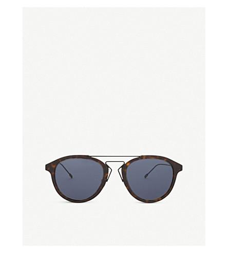 DIOR Blacktie226s aviator-frame sunglasses (Tortoise
