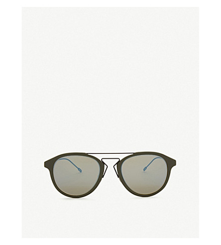 DIOR Blacktie226s round-frame sunglasses (Green