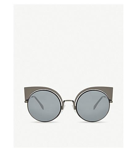 FENDI FF0177 圆太阳镜 (青铜