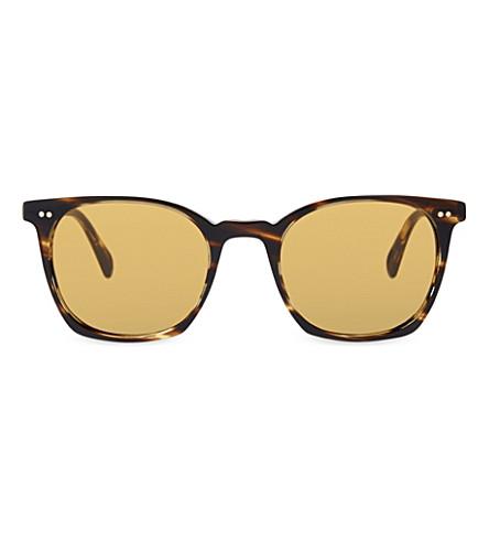 OLIVER PEOPLES Ov5297su LA Coen square frame sunglasses (Havana
