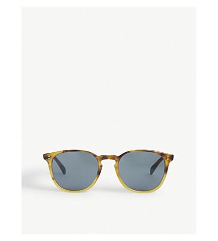 OLIVER PEOPLES Ov5298su Finley Esq. Sun round-frame sunglasses (Brown