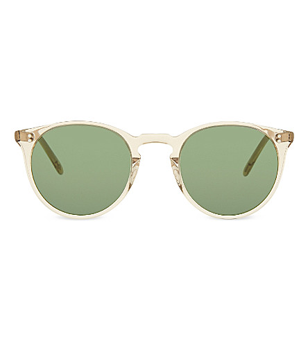 OLIVER PEOPLES Ov5183sm The Row O'Malley NYC round frame sunglasses (Yellow