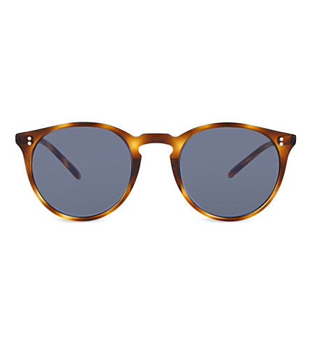 OLIVER PEOPLES Ov5183sm The Row O'Malley NYC round frame sunglasses (Havana