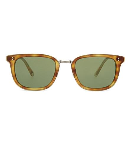 OLIVER PEOPLES OV5339S Kettner square-frame sunglasses (Havana