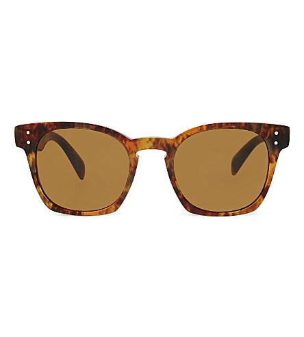 OLIVER PEOPLES OV5310su Byredo square-frame sunglasses (Havana