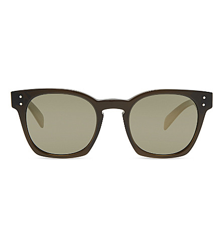 OLIVER PEOPLES OV5310SU Byredo square-frame sunglasses (Green