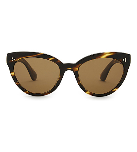 OLIVER PEOPLES Ov5355 cat-eye sunglasses (Brown