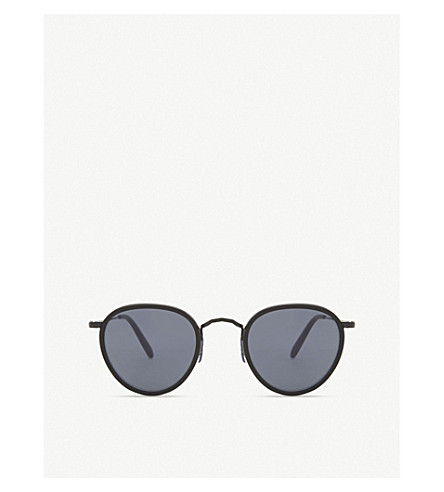 OLIVER PEOPLES Ov1104s round-frame sunglasses (Black