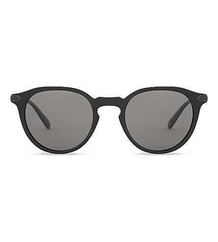 OLIVER PEOPLES OV5353SQ Phantos round-frame sunglasses (Black+grey
