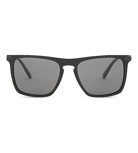 OLIVER PEOPLES Pour Berluti OV5354 Rue de Sèvres square-frame sunglasses (Black+grey