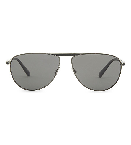 OLIVER PEOPLES Conduit Street ov1213sq round-frame sunglasses (Antique+pewter