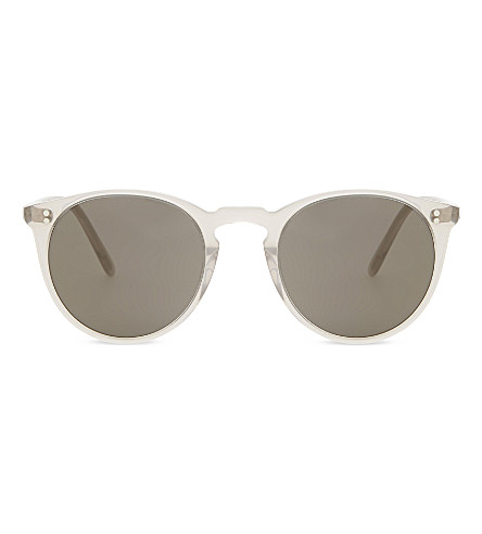 OLIVER PEOPLES Ov5183 The Row 圆形框架太阳镜 (灰色