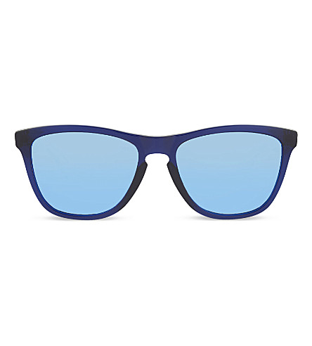 OAKLEY OO9013 Frogskins square sunglasses (Blue