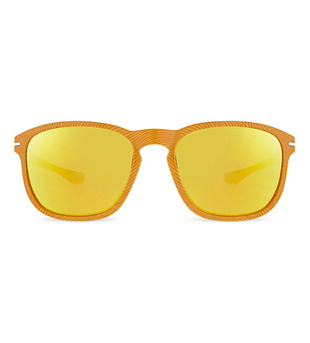 OAKLEY OO9223 Fingerprint Frogskins square sunglasses (Atomic+orange