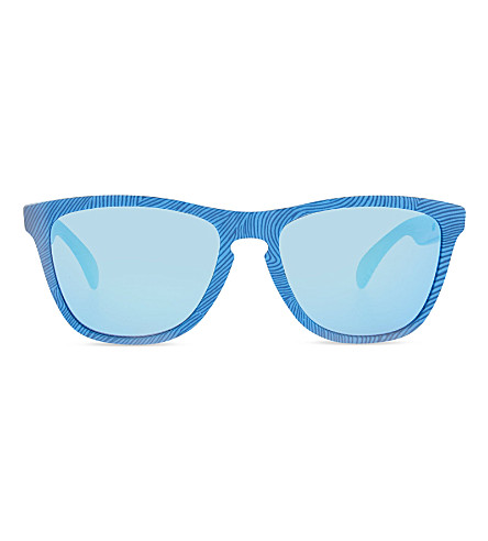OAKLEY Fingerprint square sunglasses (Sky+blue