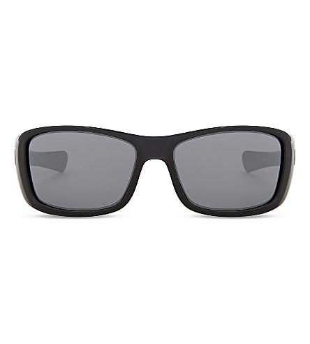 OAKLEY Turbine™ wrap-around sunglasses (Polished+black
