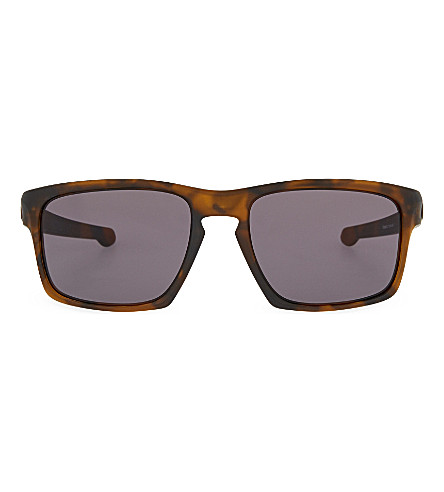 OAKLEY Havana rectangle sunglasses (Havana