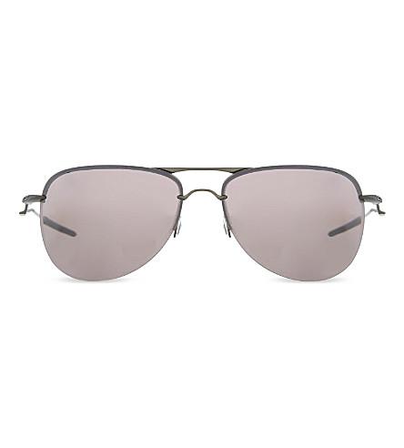 OAKLEY OO4086 Tailpin aviator sunglasses (Carbon