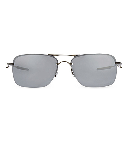 OAKLEY OO4109 Pewter square sunglasses (Pewter