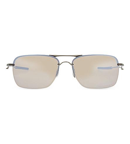OAKLEY OO4109 Titanium square sunglasses (Titanium