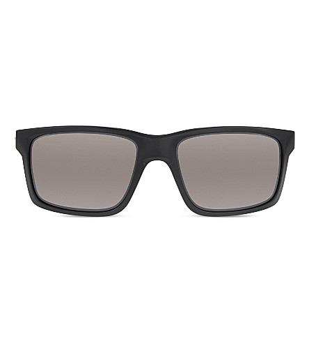 OAKLEY Mainlink OO9264 square-frame sunglasses (Polished+black