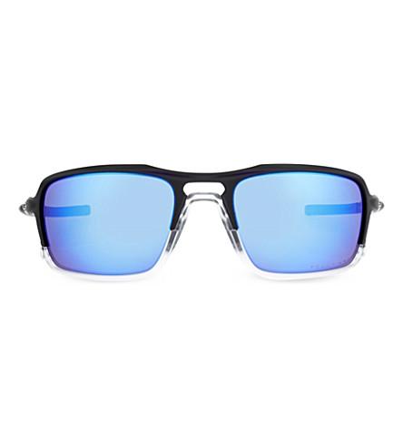 OAKLEY OO9266 Matte rectangle sunglasses (Matte+black