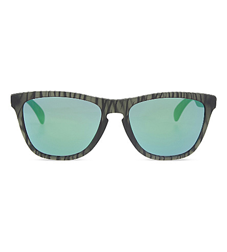 OAKLEY Oo9013 urban jungle square-frame sunglasses (Green
