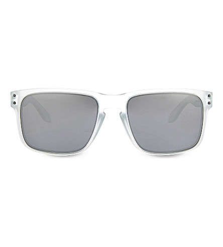 OAKLEY OO9102 Matte clear square sunglasses (Matte+clear