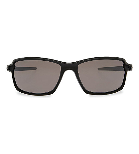 OAKLEY Oo9302 prism rectangle-frame sunglasses (Matte+black