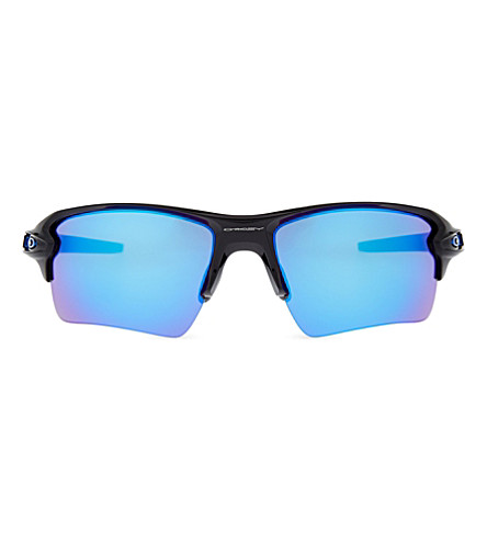 OAKLEY Flak™ 2.0 XL Team Color wrap-around sunglasses (Polished+black
