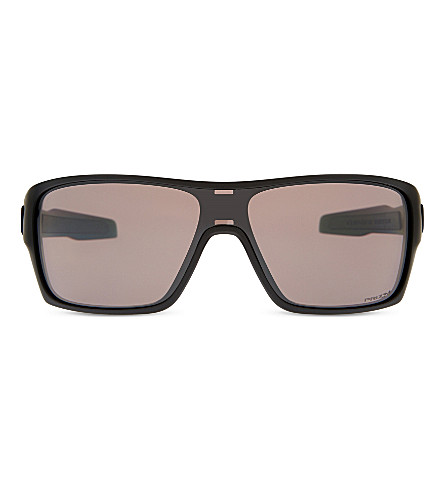 OAKLEY OO9307 Turbine Rotor square-frame sunglasses (Matte+black
