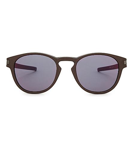 OAKLEY Oo9265 square-frame sunglasses (Bronze