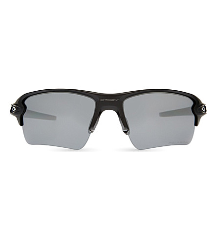 OAKLEY OO9188-53 Flax 2.0 XL rectangle-frame sunglasses (Matte+black